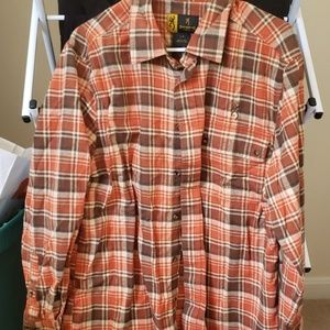 Mens flannel button up